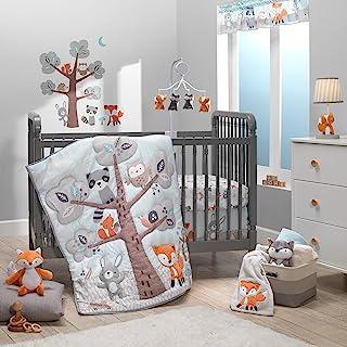 Bedtime Originals Woodland Friends 3Piece Crib Bedding Set, Multicolor