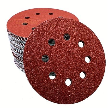 120 Grit 5 Inch Diamond Sandpaper Discs