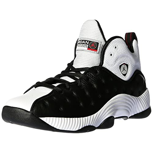 3ecc1654dc74fe Jordan 819175-010 Men Jumpman Team II Black White Varsity Red Black