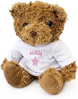 London Teddy Bears Alicia Ours en Peluche Mignon et Doux Cadeau de Noël Anniversaire