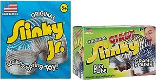 Slinky Original JR + Giant Metal, Value Pack!
