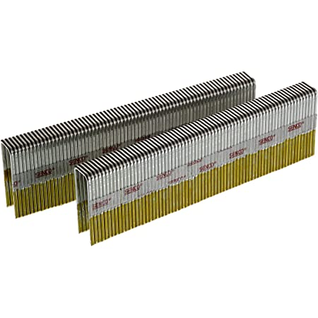 Senco N15BAB 16 Gauge by 7/16-inch Crown by 1-1/4-inch Length Electro Galvanized Staples (10,000 per box)