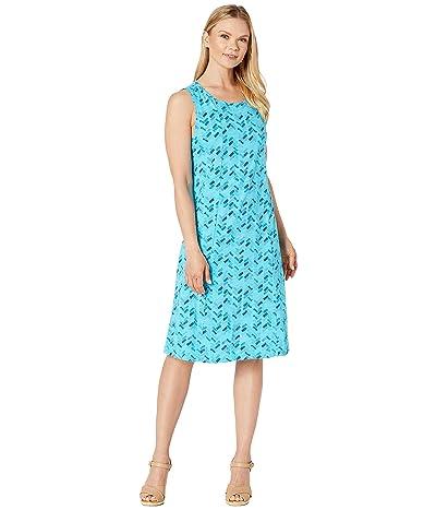 Fresh Produce Maritime Mosaic Marissa Dress (Luna Turquoise) Women