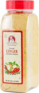 Ground Ginger Roots Powder 1 Pound (16 OZ) - Chef Quality | For Baking GingerBread Pumpkin Pie Ginger Snaps Cookies Cake D...