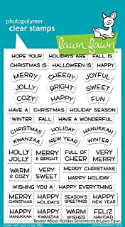 Lawn Fawn Reveal Wheel Holiday Sentiments (LF1772)