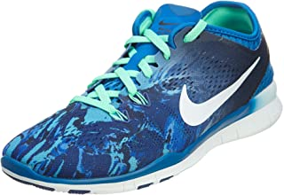 Nike Womens Free 5.0 TR Fit PRT (Size 8, Color 403) Blue