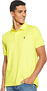 U.S. POLO ASSN. Men's Classic Fit Short Sleeve Solid Poly Polo Shirt