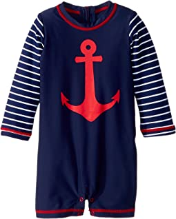 Hatley Kids - Sea Anchors Mini Rashguard One-Piece (Infant)
