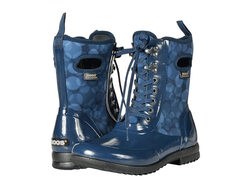 Bogs Sidney Lace Rain (Dark Blue Multi) Women