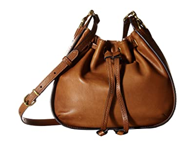 Frye Ilana Small Crossbody (Cognac) Cross Body Handbags