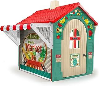 INJUSA- Casita de Juguete Market House con Toldo y Persiana para Niños de 3 años