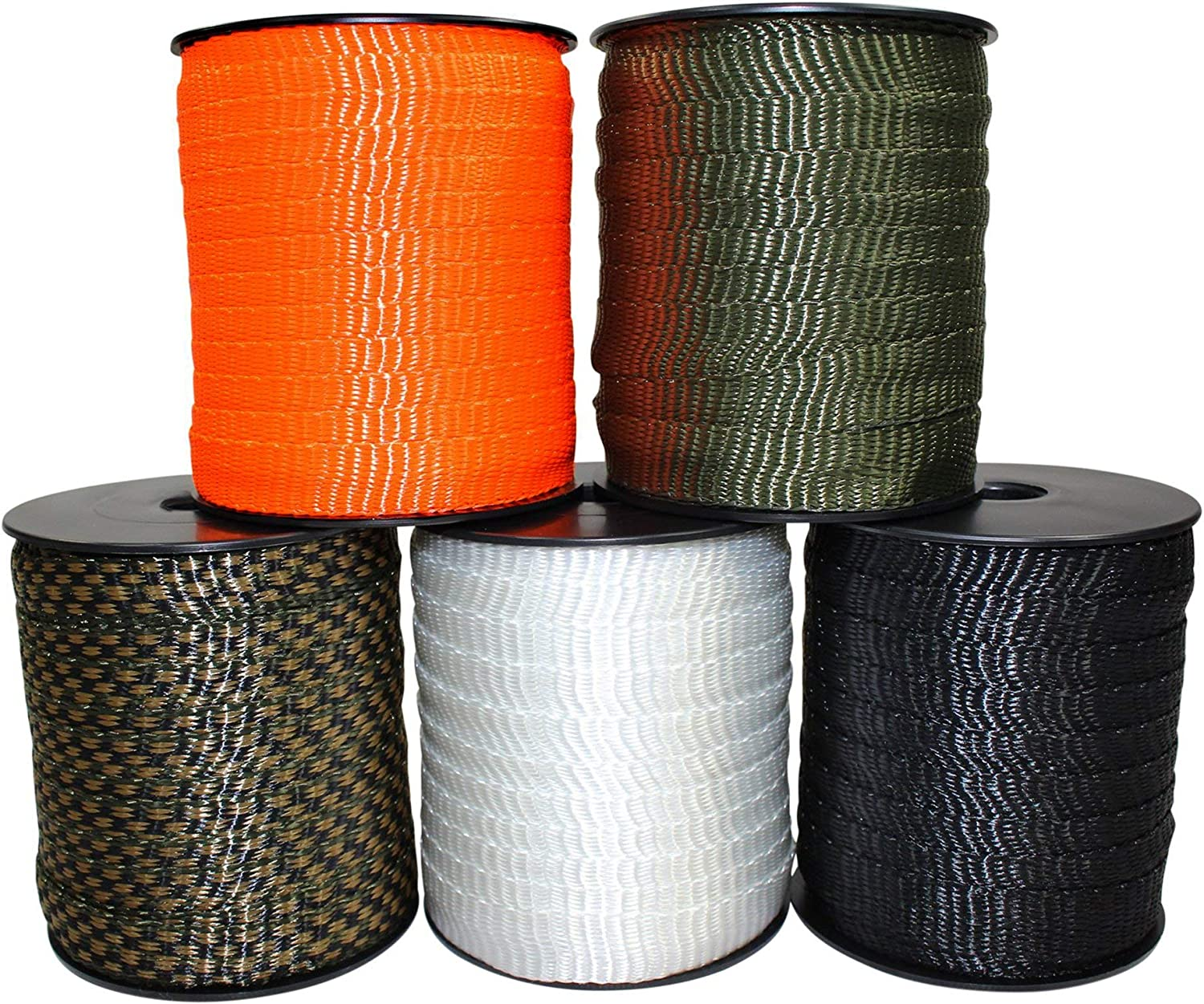 SGT KNOTS Polyester Flat Rope - Strap ! Super beauty product restock quality top! Ranking TOP9 Tape Webbing Pull Durable