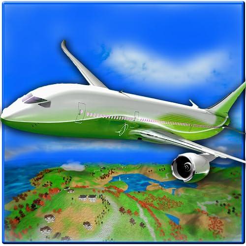 Jumbo-Flugzeug-Simulator