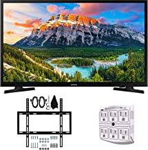 "SAMSUNG UN32N5300AFXZA 32"" 1080p Smart LED (2018) + Slim Flat Wall Mount Bundle Kit"