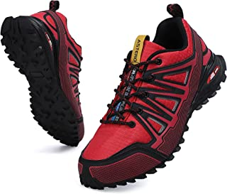 Sponsored Ad - AX BOXING Men's Trail Running Shoes Anti-Skid Walking Shoes Athletic Road Running Footwear