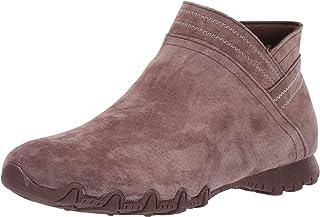 حذاء برقبة طويلة حتى الكاحل بسحاب قصير مناسب للنساء من Skechers