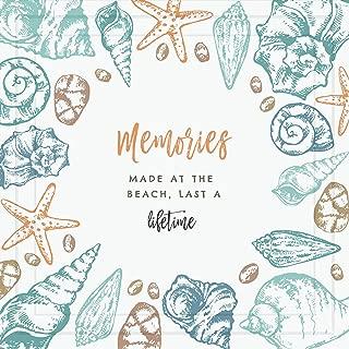 Beach Gifts for Women | 7x7 Tile Artwork for Beach Lovers | Sea Theme Art Print | Sunset Decorations for Bathroom or Bedroom | Ocean Decor Ideas for Home