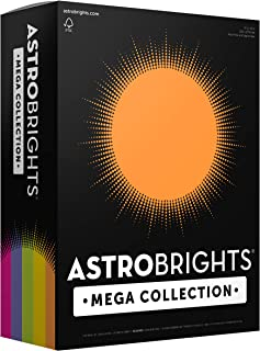 Astrobrights Mega Collection, 625 Sheets,