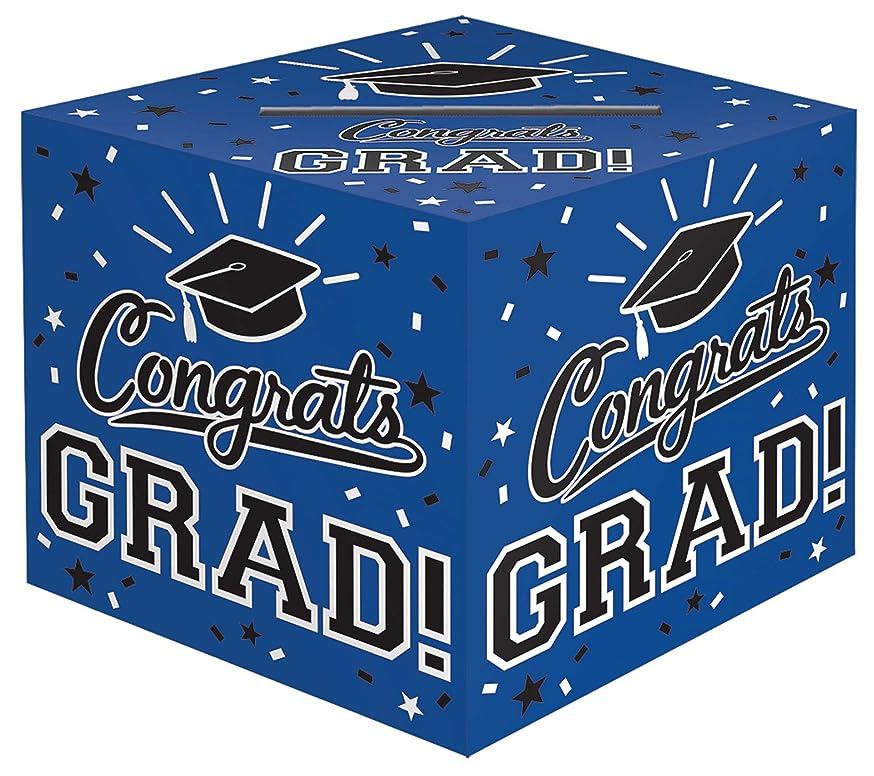 Amscan 380134.105 Grad Cardholder Box, 12