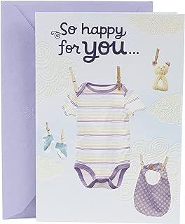 Hallmark Mahogany Baby Greeting Card (Baby Clothesline)