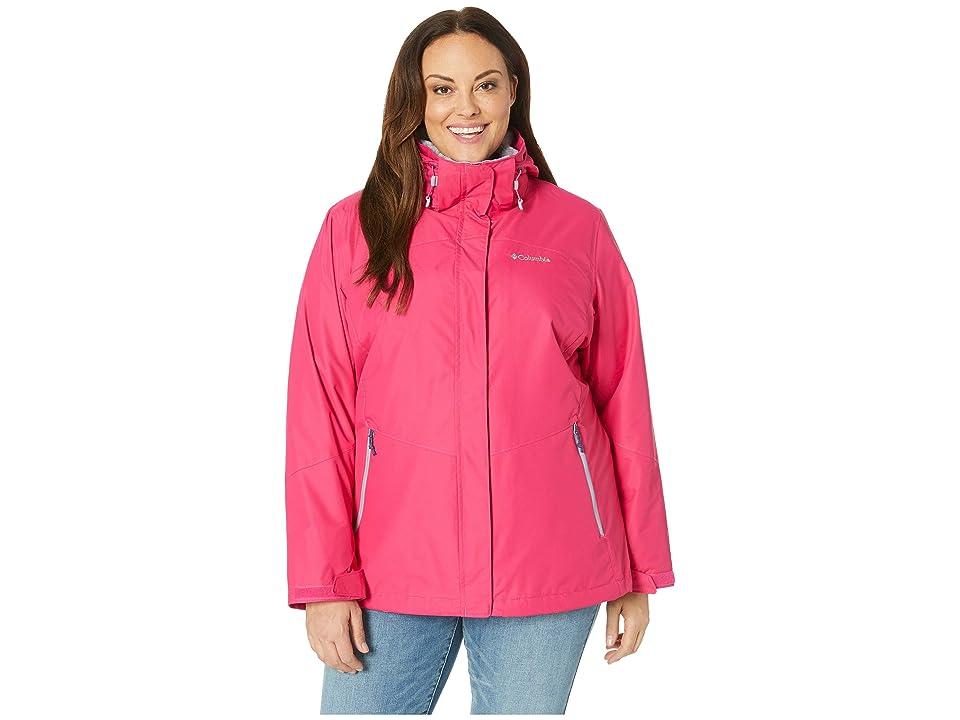 Columbia Plus Size Bugabootm II Fleece Interchange Jacket (Cactus Pink/Astral) Women