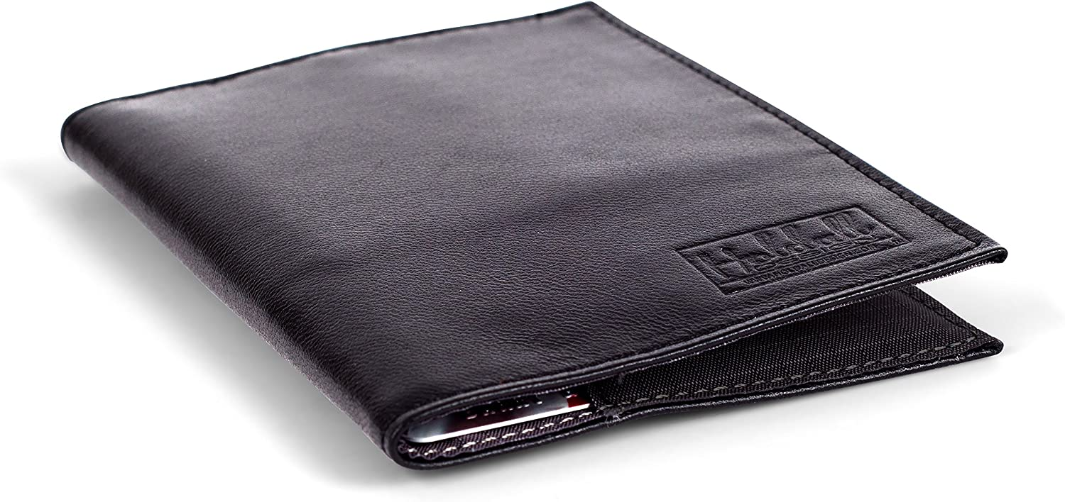 Holdall Design Men's Slim Genuine Leather Wallet With Ultra Thin Design