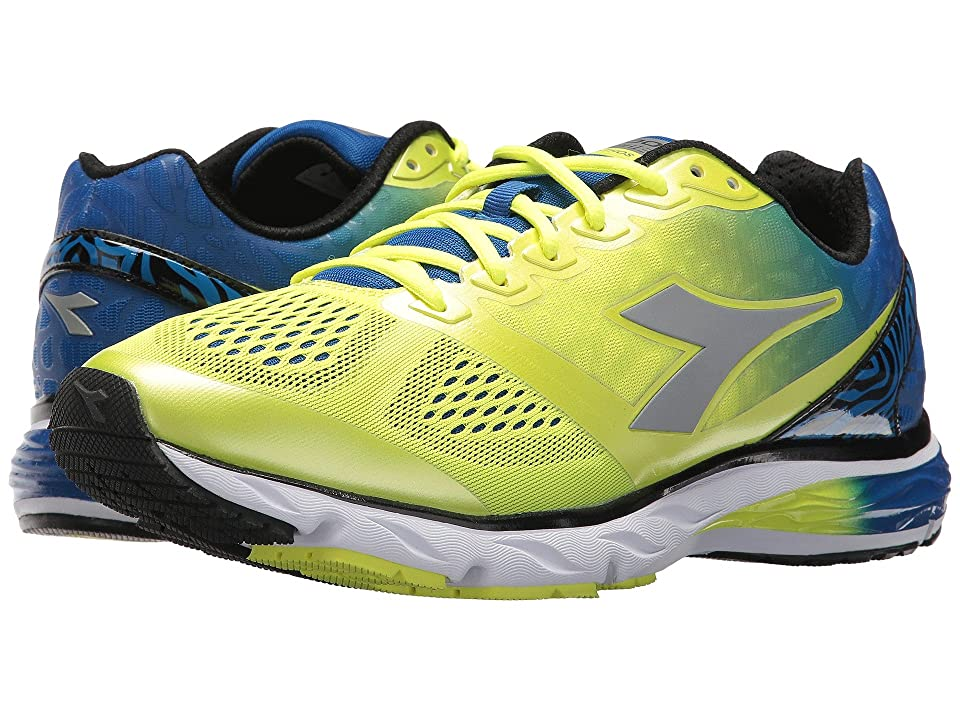 Diadora Mythos Blushield (Fluo Yellow/Royal) Men