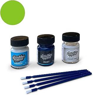 ScratchesHappen Exact-Match Touch Up Paint Kit Compatible with Lamborghini Verde Mantis (A3A3/A3/L0L6) - Preferred