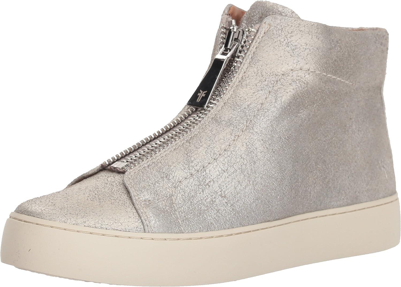 Frye Womens Lena Zip High Fashion Sneaker