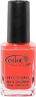 Color Club Poptastic Neons Nail Polish, Orange, Lava Lamp.05 Ounce