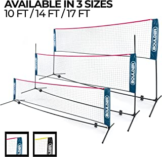 badminton court net size