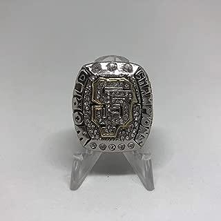 2014 MVP Madison Bumgarner #40 San Francisco Giants High Quality Replica 2014 World Series Ring Size 9-Silver