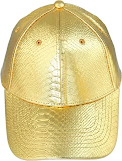 Samtree Unisex Baseball Cap,Adjustable PU Leather Corduroy Sun Protection Sport Hat