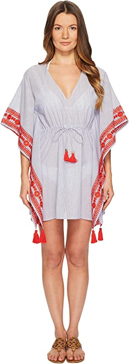 Tory Burch Swimwear - Ravena Beach Caftan Top Cover-Up