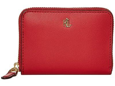 LAUREN Ralph Lauren Small Zip Wallet (Red) Wallet Handbags