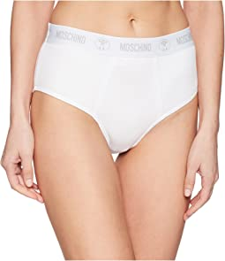 Ribbed High-Waisted Brief