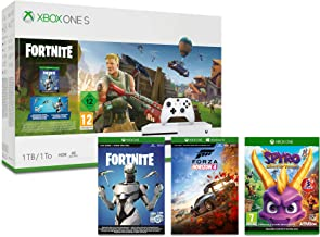 Xbox One S 1TB Fortnite Console + Forza Horizon 4 - Standard Edition + Spyro Trilogy Reignited (Xbox One)