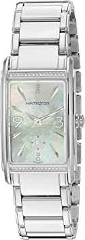 Hamilton Womens Ardmore Swiss Quartz Stainless Steel Watch