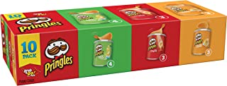 Pringles Potato Crisps Chips, Flavored Variety Pack, 13.7 Ounce