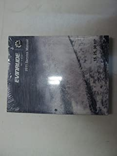 2011 Evinrude E-TEC 15 25 30 HP Service Repair Manual Factory OEM 5008326 ***