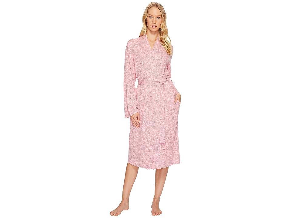 N by Natori Soho Brush Robe (Fuchsia) Women