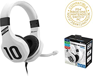 Subsonic - Gaming headset for PS4 / Xbox one/PC/Switch (only Fortnite) - Gamer acceessories White (PS4///)