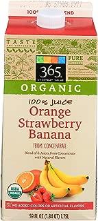 365 Everyday Value, Organic Orange Strawberry Banana Juice, 59 fl oz