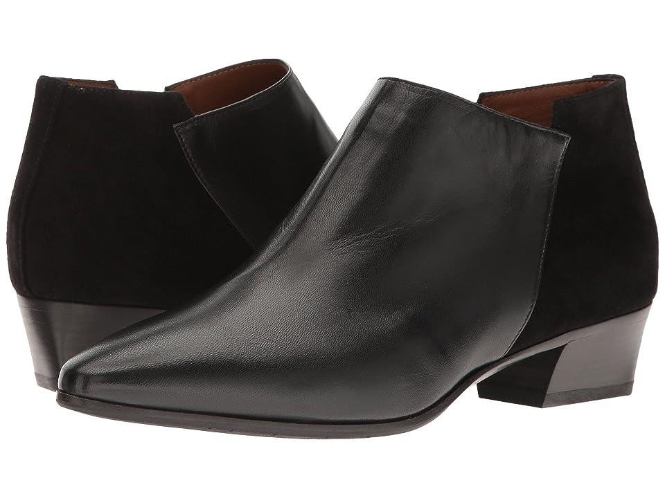 Aquatalia Fonda (Black Suede/Leather) Women