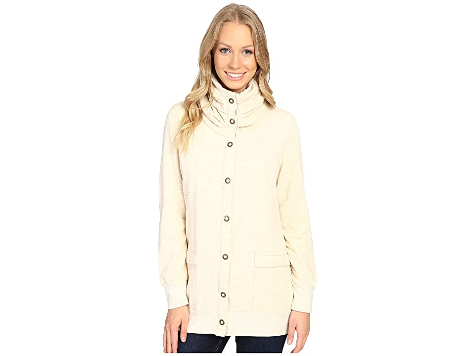 Royal Robbins Tencel Terry Cardi (Oatmeal) Women