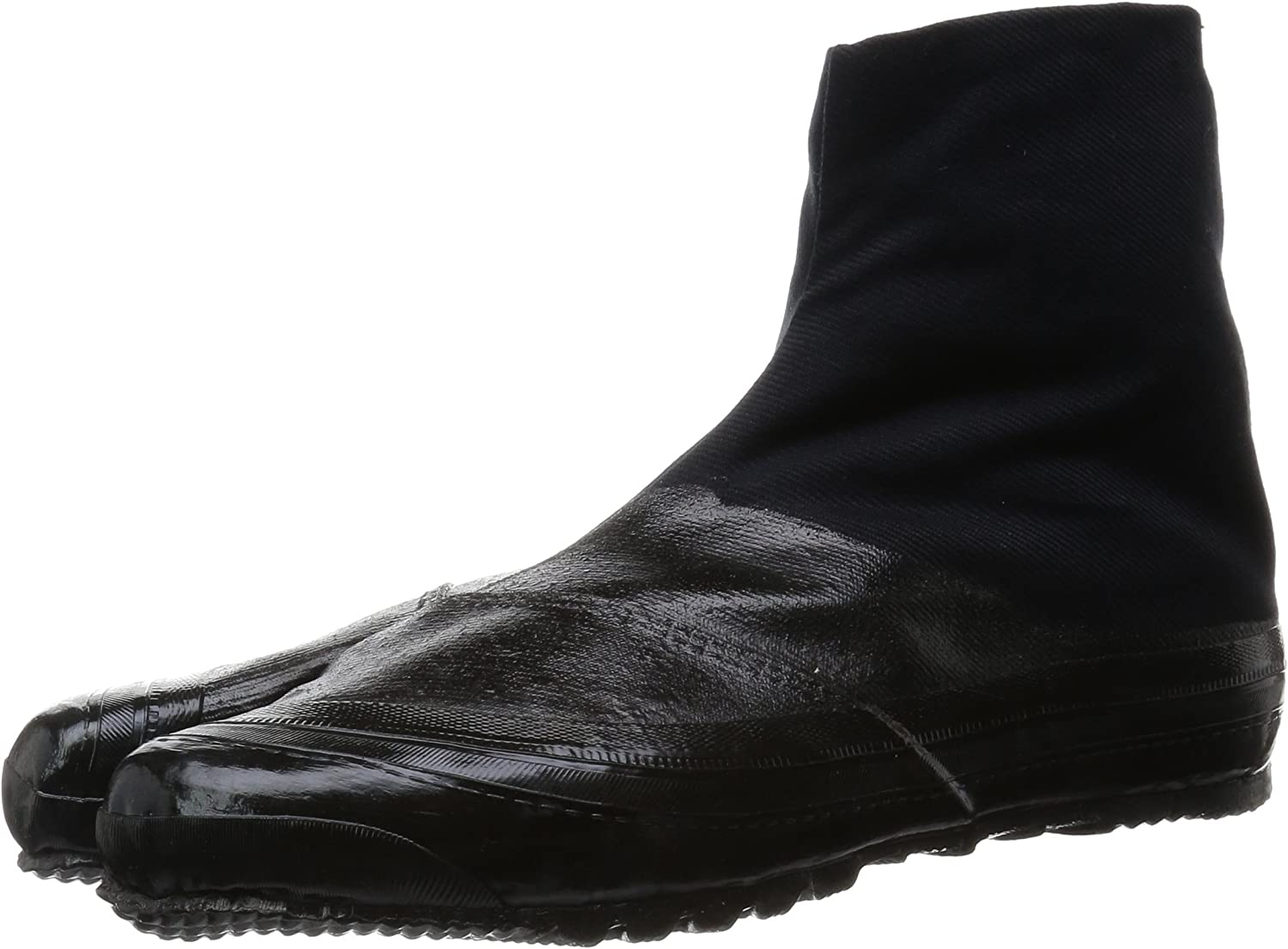 ALL BLACK Ninja Tabi Boot   Japanese shoes & Rubber Sole By Marugo from Jap...