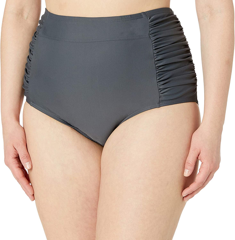 Amazon Brand - Coastal Blue Plus Size Bikini Bottom