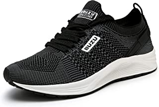 Mens Athletic Shoes Lightweight Cushioned Running Sport...