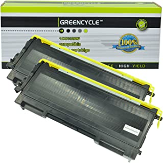 GREENCYCLE 2 Pack TN350 TN-350 Black Toner Cartridge for Brother HL-2040 HL-2070N FAX-2820 FAX-2920 Printers