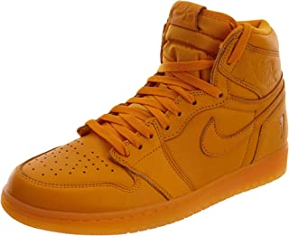 Nike Air Jordan 1 Retro Hi OG G8RD Mens Trainers AJ5997 Sneakers Shoes (UK 9 US 10 EU 44, Orange Peel 880)